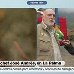 Cristina Pardo despide al chef José Andrés, que antes de irse deja un aviso que hay
