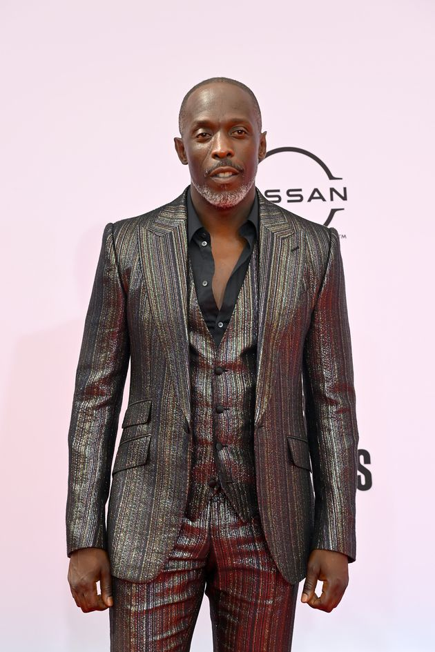 Michael Kenneth Williams pictured at the BET Awards earlier this