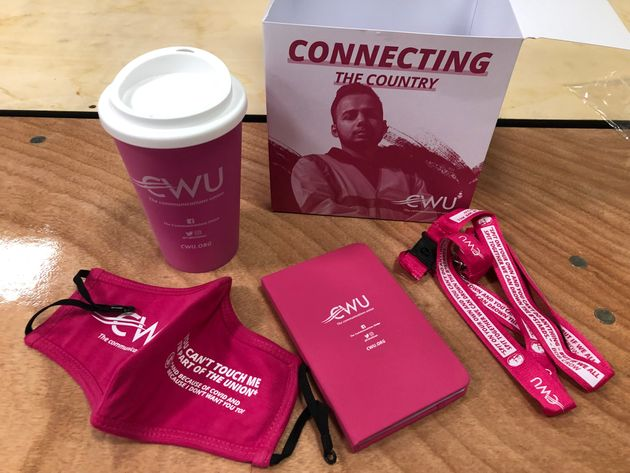 CWU freebie at Labour Party