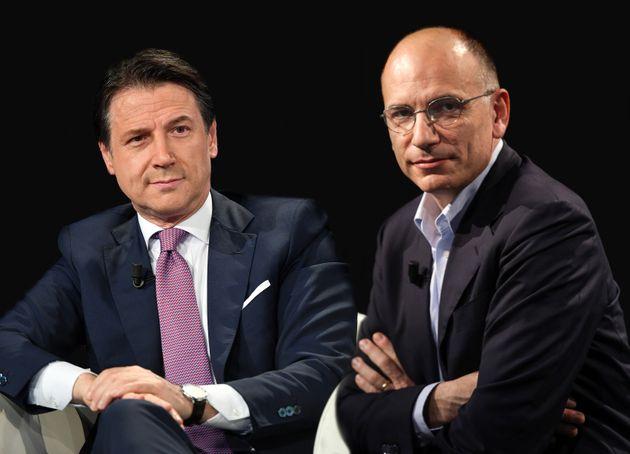 Giusppe Conte ed Enrico