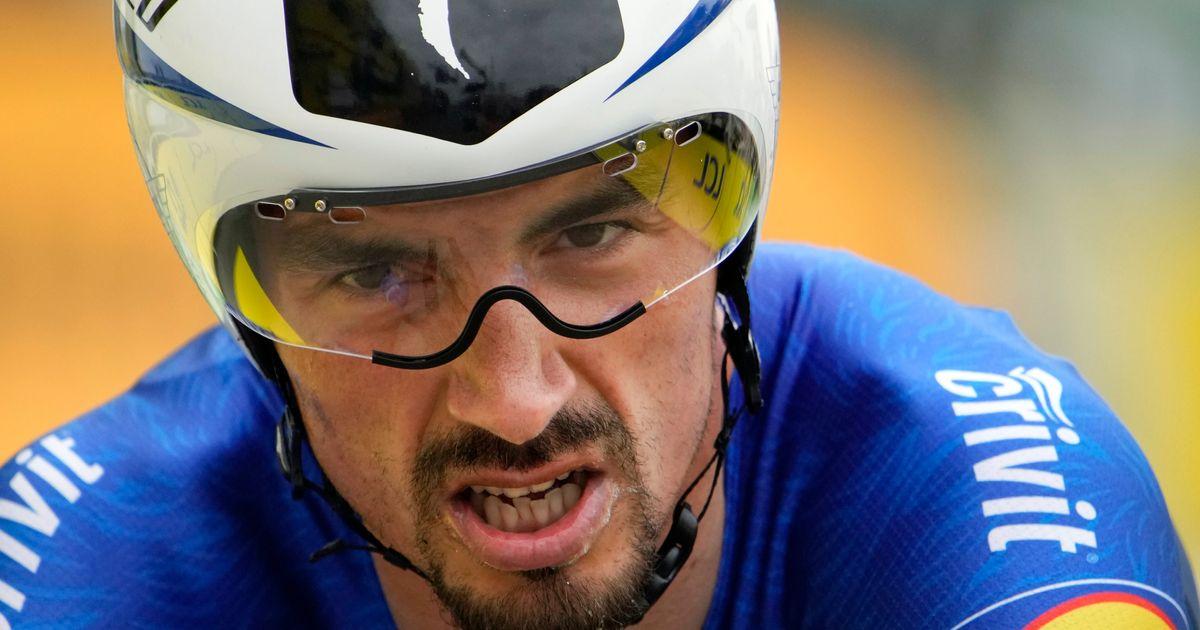 Alaphilippe conserve son titre de champion du monde de cyclisme
