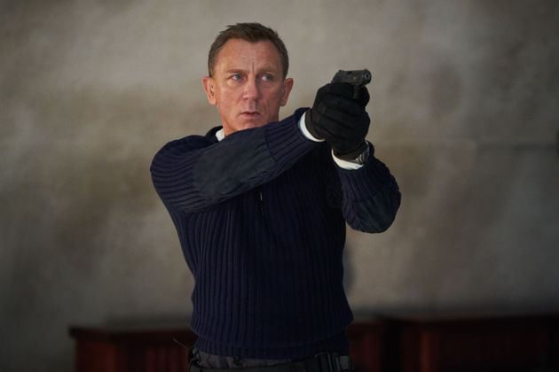 Daniel Craig as James Bond in his final outing in the
