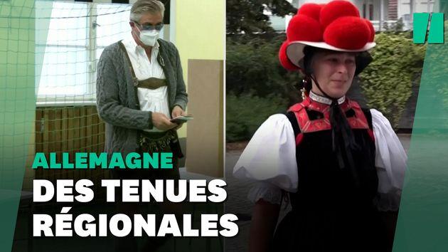 Le 26 septembre pour aller voter, ces Bavarois ont sorti leurs tenues