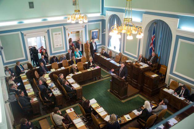 Parlamento de Islandia en