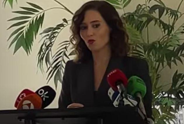 Isabel Díaz Ayuso, en Nueva