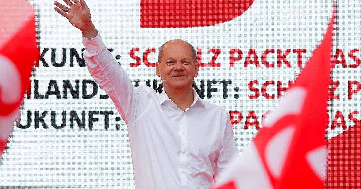 En Allemagne, le SPD revendique (déjà) la victoire malgré des premiers résultats serrés avec la CDU