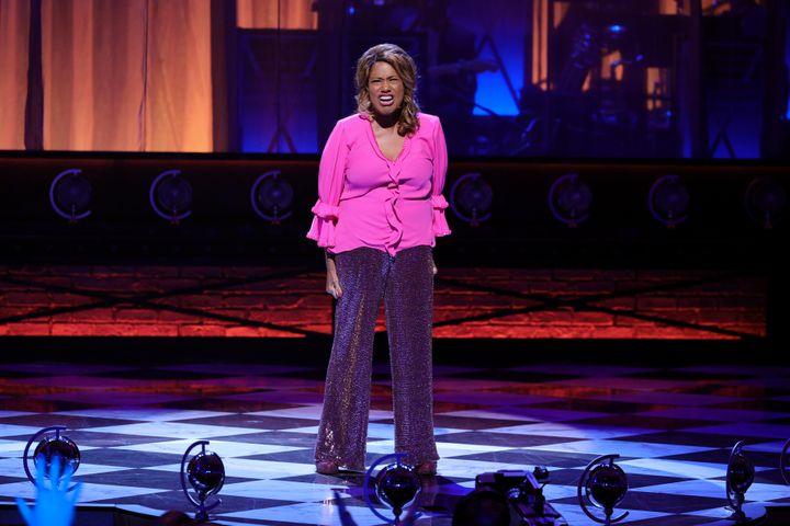 Jennifer Holliday performs on stage during the 2021 Tony Awards Sunday night.