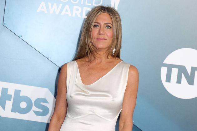Jennifer Aniston at the SAG Awards in