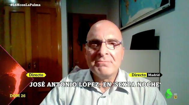 José Antonio López en 'laSexta