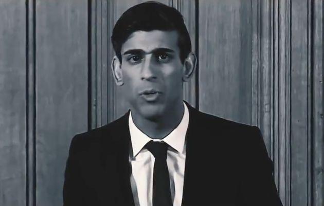 Rishi Sunak in his latest
