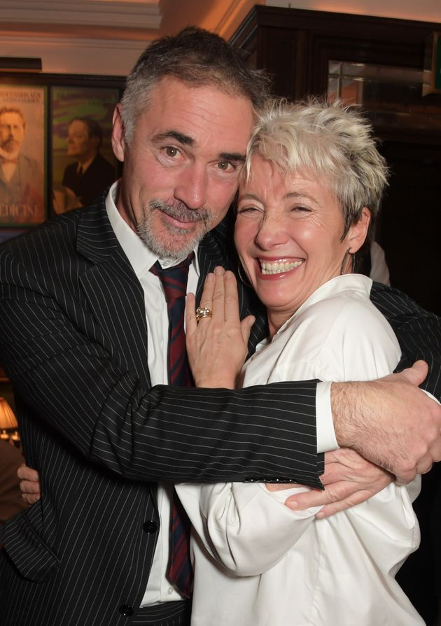 Greg Wise and Emma