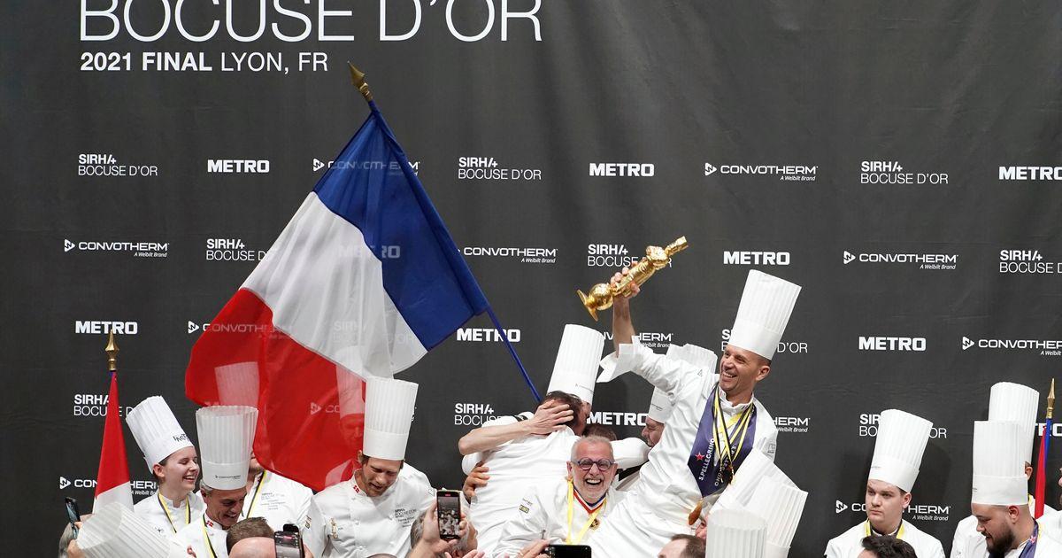 La France, emmenée par le chef Davy Tissot, remporte le Bocuse d'Or 2021