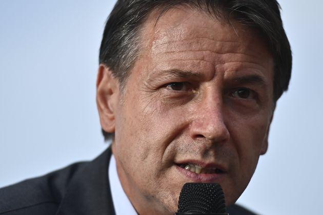 TURIN, ITALY - SEPTEMBER 27: Giuseppe Conte president of political party