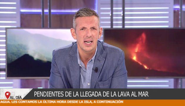 Joaquín Prat, este lunes en 'Cuatro al
