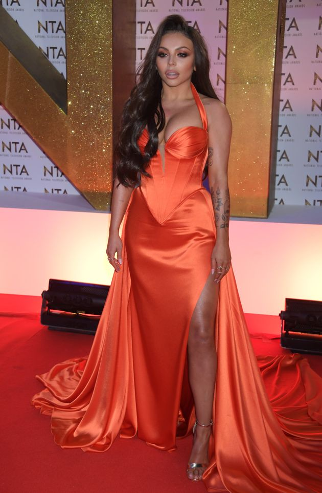 Jesy during a solo appearance at the NTAs last year