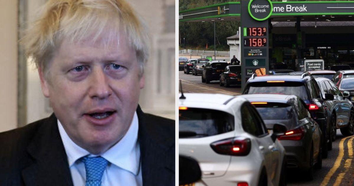 Boris Johnson Slammed For 'Hiding' During UK Fuel Crisis