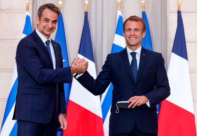Στρατηγική συνεργασία Ελλάδας - Γαλλίας. Πώς ερμηνεύουν τη συμφωνία Μητσοτάκης -