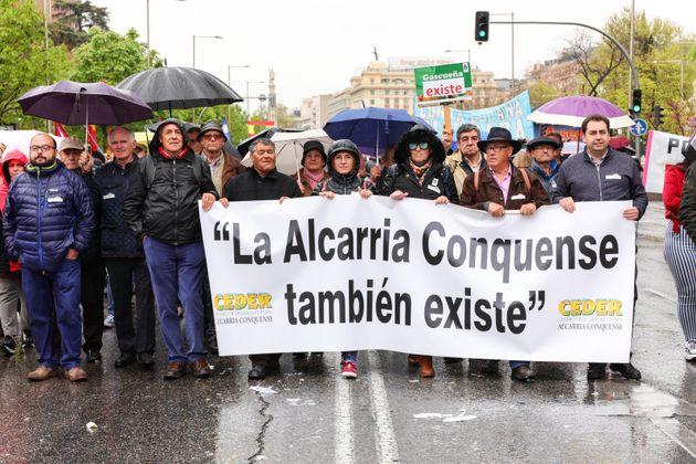 Imagen de archivo de una manifestación de la España