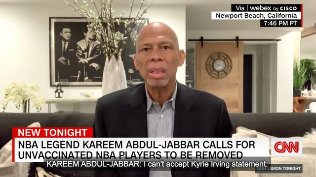Kareem Abdul-Jabbar Offers Harsh Solution For NBA's Vaccine Refusers.jpg