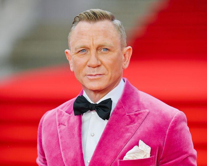 Bond himself stares down the camera.