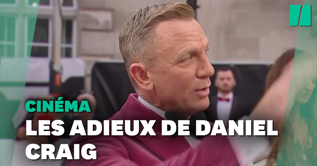 Daniel Craig dit au revoir à James Bond dans un costume rose