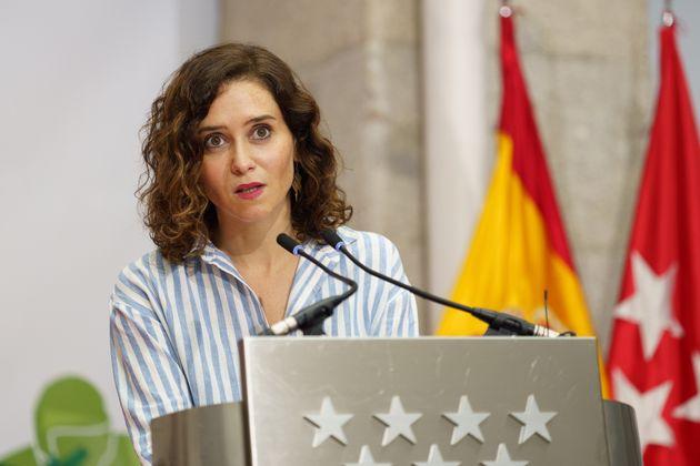 Isabel Díaz Ayuso, en una imagen del 24 de septiembre en