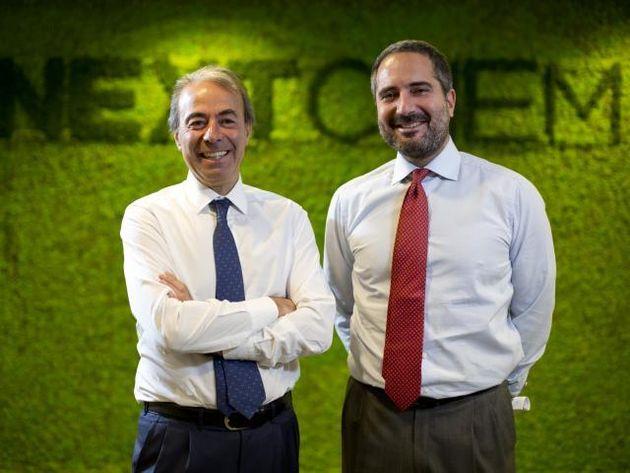 Fabrizio Di Amato, Fondatore e Presidente del Gruppo Maire Tecnimont e (a destra) Pierroberto Folgiero,...