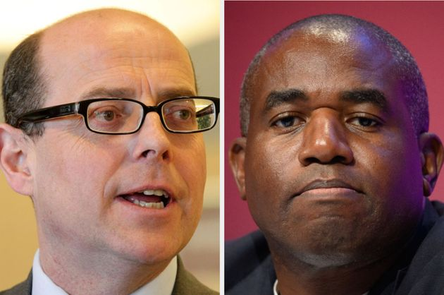 Nick Robinson and David Lammy clashed on the Today