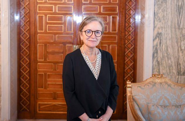 Najla Bouden Romdhane est la première femme de l'Histoire de la Tunisie à être chargée...