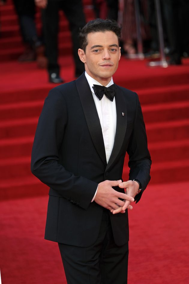 Rami Malek at the premiere of No Time To Die