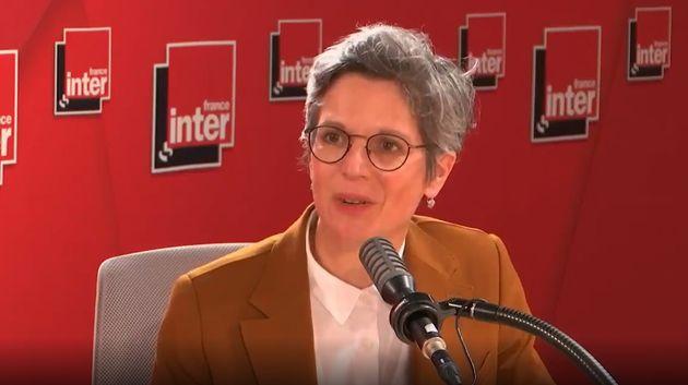 Sandrine Rousseau sur le plateau de France inter mercredi 29