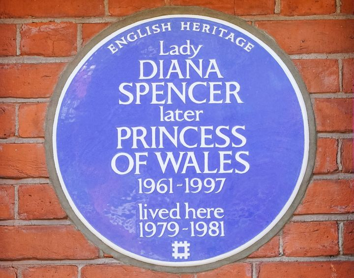 The English Heritage blue plaque is unveiled outside Coleherne Court, Old Brompton Road on Sept. 29. London finally honored t