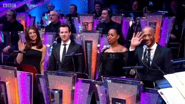 Some of the Strictly Come Dancing