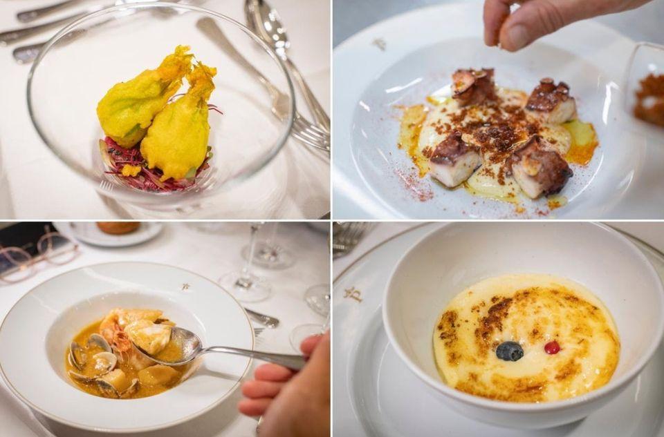 Los platos más exitosos de la cocina del Parador de Aiguablava eran parte esencial del