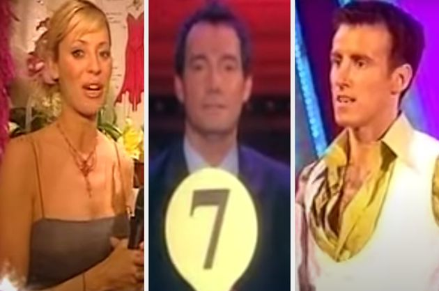 Tess Daly, Craig Revel Horwood and Anton Du Beke during the very first