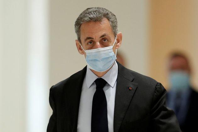 Nicolas Sarkozy au tribunal, le 30 novembre 2020.