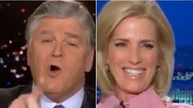 Sean Hannity Gets Weird In Super-Awkward Exchange With Laura Ingraham.jpg