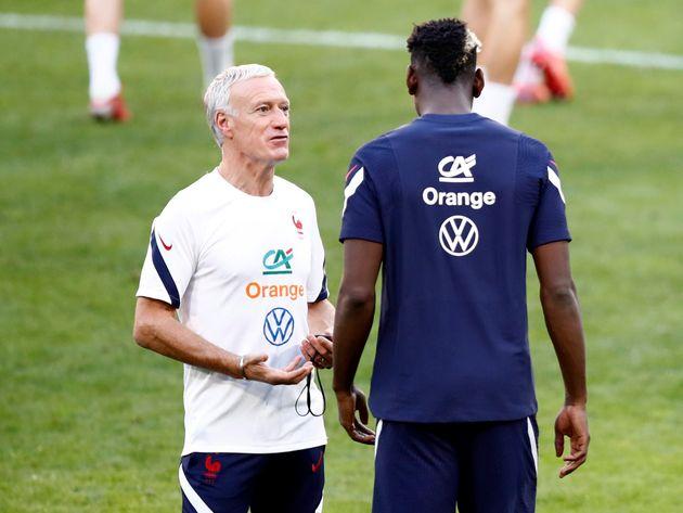 Pour la demi-finale de Ligue des Nations face à la Belgique, Didier Deschamps a évidemment retenu Paul Pogba, mais pas Olivier Giroud ni Steve Mandanda (photo prise en septembre à Lyon).
