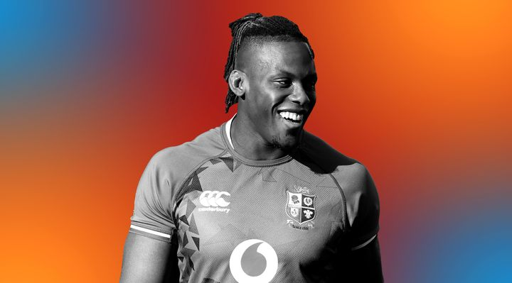 """Maro Itoje: """"It's nice when you see other young Black players coming through."""""""