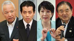 自民党4役、平均年齢64.25歳。「若手登用」の福田達夫総務会長は54歳…そろって会見