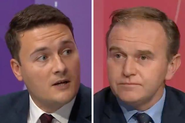 Wes Streeting and George Eustice clashed on BBC Question
