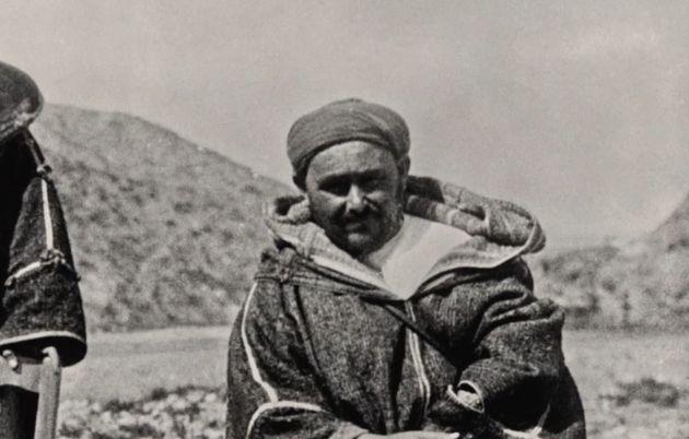 Abdelkrim El Khattabi, qui a proclamé l'indépendance de la République islamique...