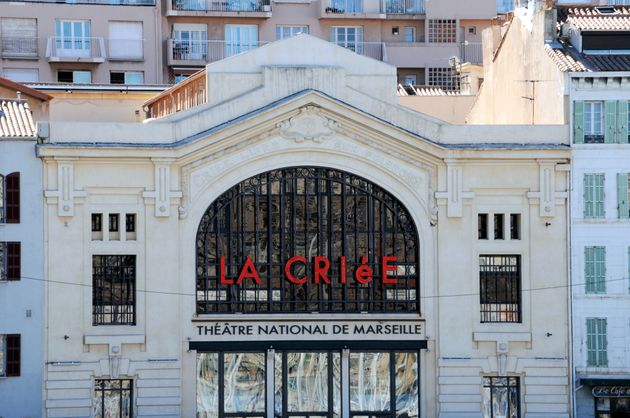 Le théâtre National de la Criée à Marseille, dans les Bouches-du-Rhône, France. (Photo by Jean-Marc CHARLES/Gamma-Rapho via Getty Images)