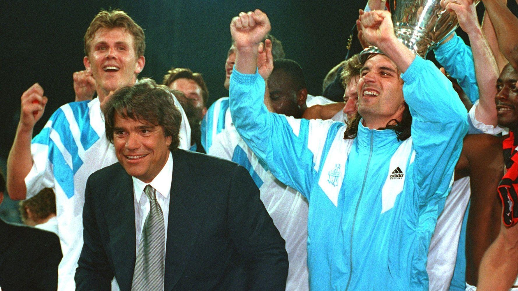 Après la mort de Bernard Tapie, l'Olympique de Marseille en deuil