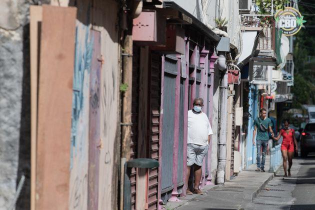 Images de Fort-de-France, en Martinique, le 1er septembre 2021.