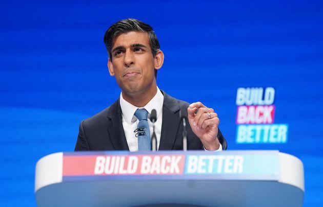 Rishi Sunak Defends Tax Rises In Speech To Tory