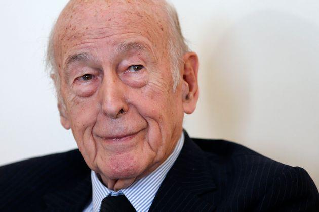 Valéry Giscard d'Estaing lors d'une interview, le 11 février 2016.