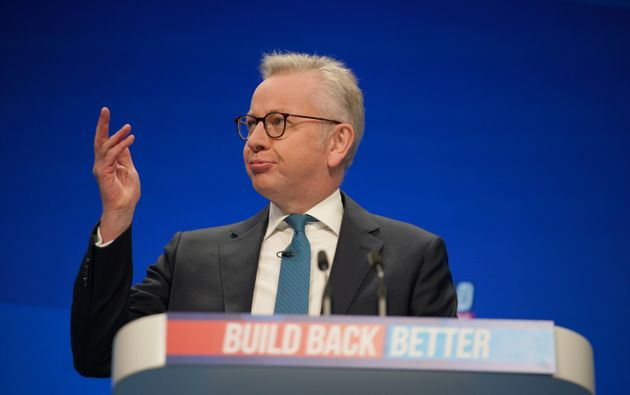 Michael Gove Jokes About Being Filmed