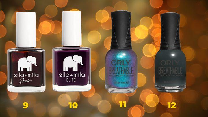 Halloween nail polishes