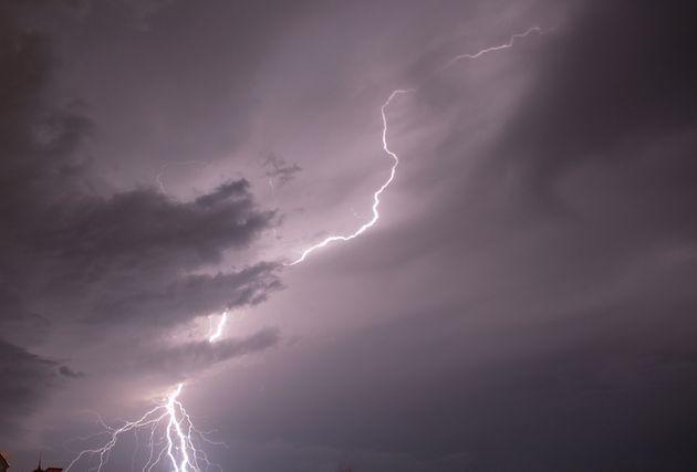 Seule la Haute-Corse reste en vigilance orange pluies-inondation lundi 4 octobre 2021 au soir (image d'illustration).